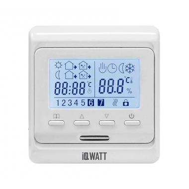 IQ THERMOSTAT тип P - программируемый терморегулятор для теплого пола