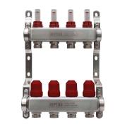 Коллектор NEPTUN IWS из нержавеющей стали с расходомерами 2-12 выходов