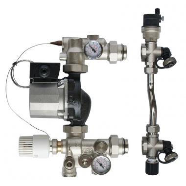 Смесительный узел NEPTUN IWS SIMPLEX для систем водяного теплого пола