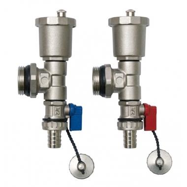 Торцевой комплект NEPTUN IWS 1 дюйм для подающего и обратного коллекторов водяного теплого пола