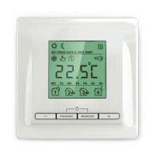 Теплолюкс ТР 520 (белый) - программируемый терморегулятор с ЖК-экраном