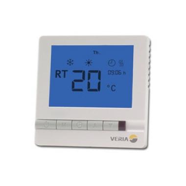 VERIA Control T45 - программируемый регулятор с датчиками пола и воздуха